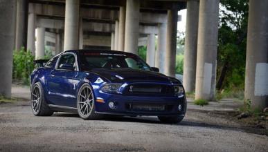El Shelby Mustang GT500 de ¡1.258 CV!