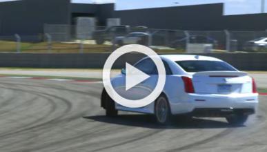 Vídeo: así va el anti-BMW M4 que ha preparado Cadillac