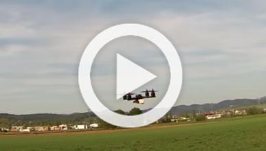 Un dron que corre y suena ¡como un fórmula 1!
