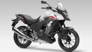 Honda CB500X, entre las promocionadas