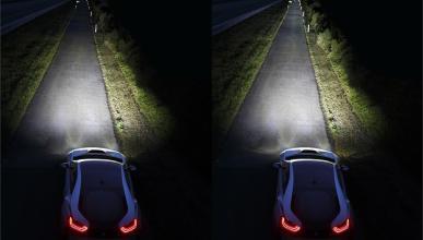 Así funcionan las luces láser del BMW i8