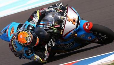 Libres 1 Moto2 GP de España 2015: Rabat despierta