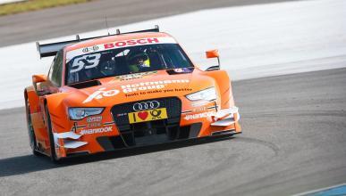 DTM 2015, Carrera 1 Hockenheim: Jamie Green no da opción