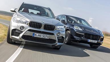 BMW X5 M vs. Porsche Cayenne Turbo S