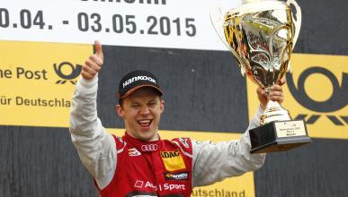DTM 2015, Carrera 2 Hockenheim: victoria de Ekstrom
