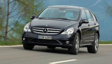 Mercedes Clase R delantera