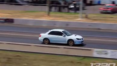 Un Subaru Impreza bate récord de aceleración