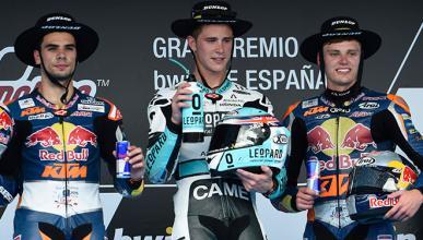 Sombreros Dunlop en Moto2 y Moto3