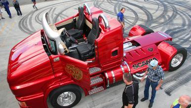 Svempa Scania Red Pearl