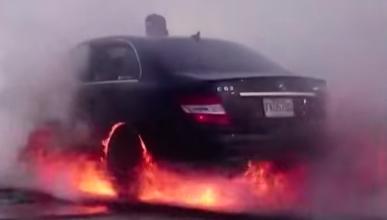 Vídeo: el 'burnout' más impresionante de todos los tiempos