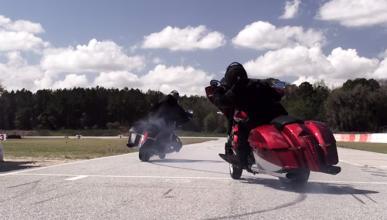 Vídeo: Drifting con dos Victory, espectáculo puro