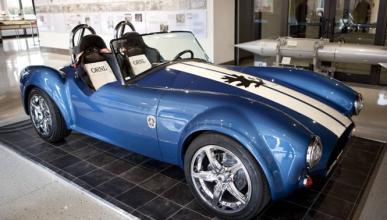 Fabrican una réplica del Shelby Cobra con una impresora 3D