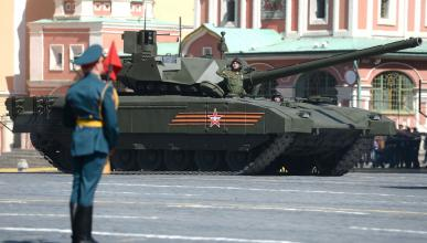 T 14: el supertanque de Putin