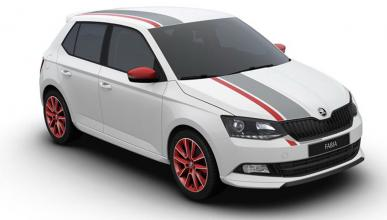 Skoda Fabia Red & Grey Plus, para Wörthesee