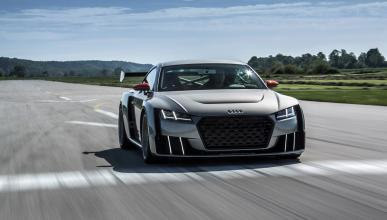 Audi TT Clubsport Turbo dinamica circuito