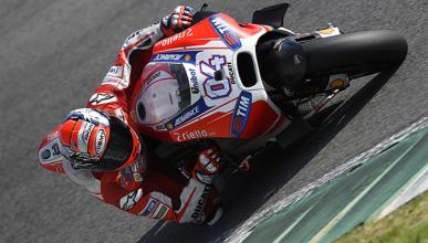 Libres 1 MotoGP GP de Francia 2015: Dovizioso primero