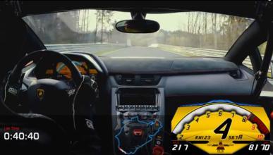El Aventador SV baja de los 7 minutos en Nürburgring