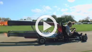 Jet-Kart: puede que sea el kart más rápido del mundo