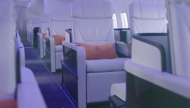 52 asientos en el jet privado de Four Seasons