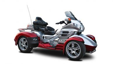 Una Honda Goldwing convertida en quad