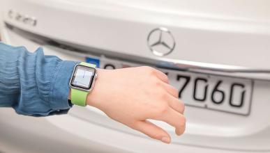 Aplicación de Mercedes-Benz para Apple Watch