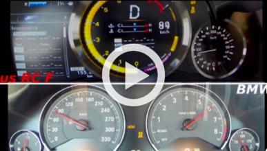¿Es más rápido el Lexus RC F que este BMW?