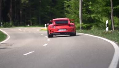 Vídeo: Chris Harris, al volante del Porsche 911 GT3 RS