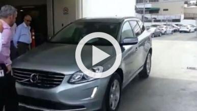 Una demo de aparcamiento automático que no acaba bien