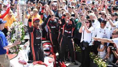 Montoya logra sus segundas 500 MIllas de Indianápolis
