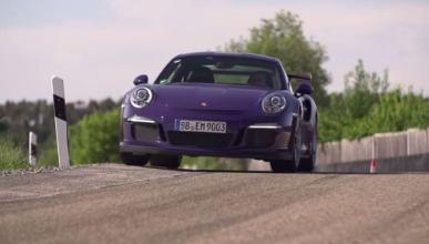 Así se lo pasa Chris Harris con el Porsche 911 GT3 RS