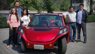Transforman un VW Beetle de 1975 en un coche eléctrico