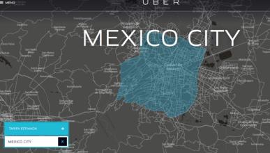Uber da viajes gratis en México durante una huelga de taxis