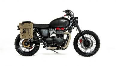 Triumph Bonneville Venom, la moto de Metal Gear Solid