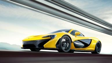 Pide un taxi y llega... un ¡McLaren P1!