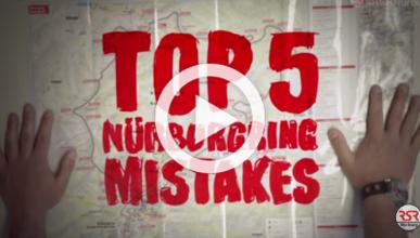 Los 5 errores más comunes en Nürburgring