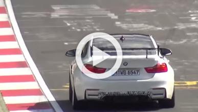 Cazado el BMW M4 GTS y su impresionante alerón trasero