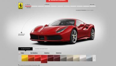 Así es el nuevo configurador del Ferrari 488 GTB