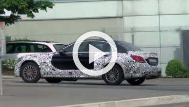 Un extraño Mercedes Clase C pillado