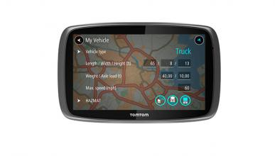 tomtom trucker 6000 llega el gps para camiones tecnolog a. Black Bedroom Furniture Sets. Home Design Ideas