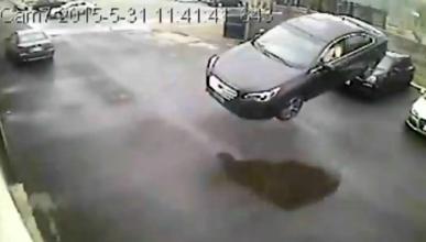 Brutal accidente del...¡Subaru volador!