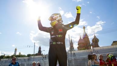 Fórmula E, Moscú 2015: Piquet gana y aumenta su liderato
