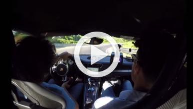 Vuelta infernal con un Porsche 911 GT3 en Nürburgring