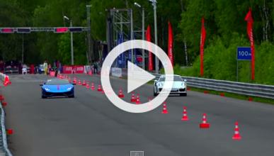 Impresionante drag race: Lambo Huracan contra Porsche 911
