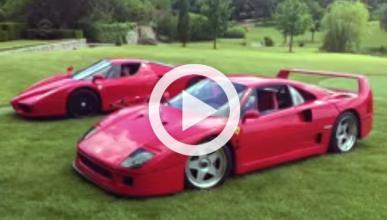 Cómo hacer el canelo con un Ferrari Enzo y un F40...