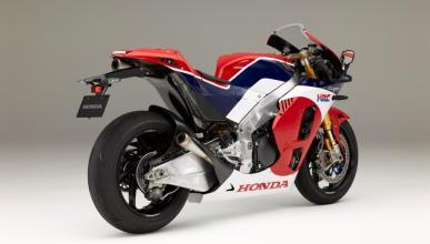 Honda RC213V-S , tres cuartos trasero.