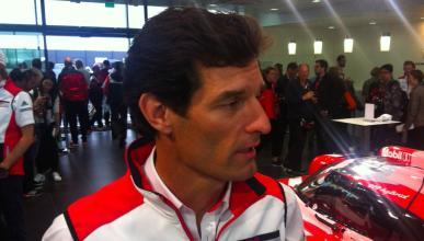 Entrevistamos a Webber antes de las 24 H de Le Mans 2015