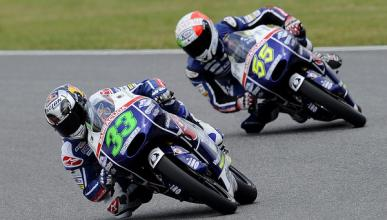 Libres 3 Moto3 GP de Catalunya 2015: Bastianini se suma