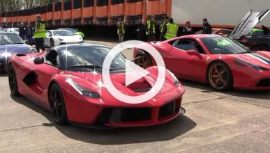 El Ferrari LaFerrari puede con todos, Koenigsegg incluido