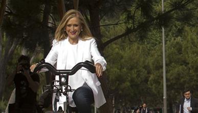 Cristina Cifuentes: una motorista en la Asamblea de Madrid