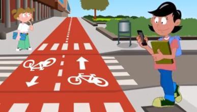 El 98% de peatones con accidente usaban móvil